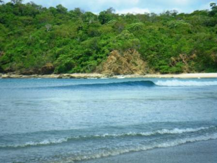 Surf lessons at Playa Remanso