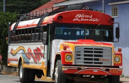 bus to San Juan del Sur