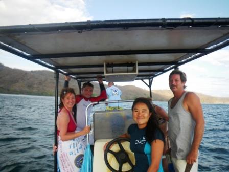 Surf and boating trips San Juan del Sur