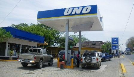 Uno Gas Station in San Juan del Sur